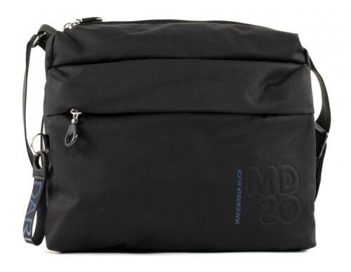 MANDARINA DUCK MD20 Crossover Bag M Umhängetasche Tasche Black Schwarz Neu