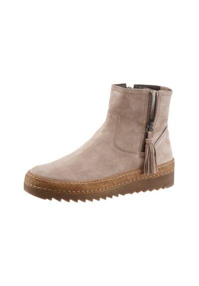 Boots, gabor, talla de cuero. cremalleras. talla gabor, 7 (41), nuevo 7f49ff