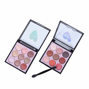 Maquillaje-Cosmetico-9-Colores-Perla-Polvo-de-sombra-de-ojos-Paleta-Sombra-de-Ojos-Mate-Hl