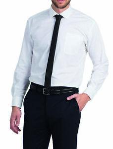 brand new 3b9d4 9b3ca Details zu Herrenhemd B&C Langarm Popeline S M L XL XXL 3XL 4XL Fair Wear  Hemd Übergröße