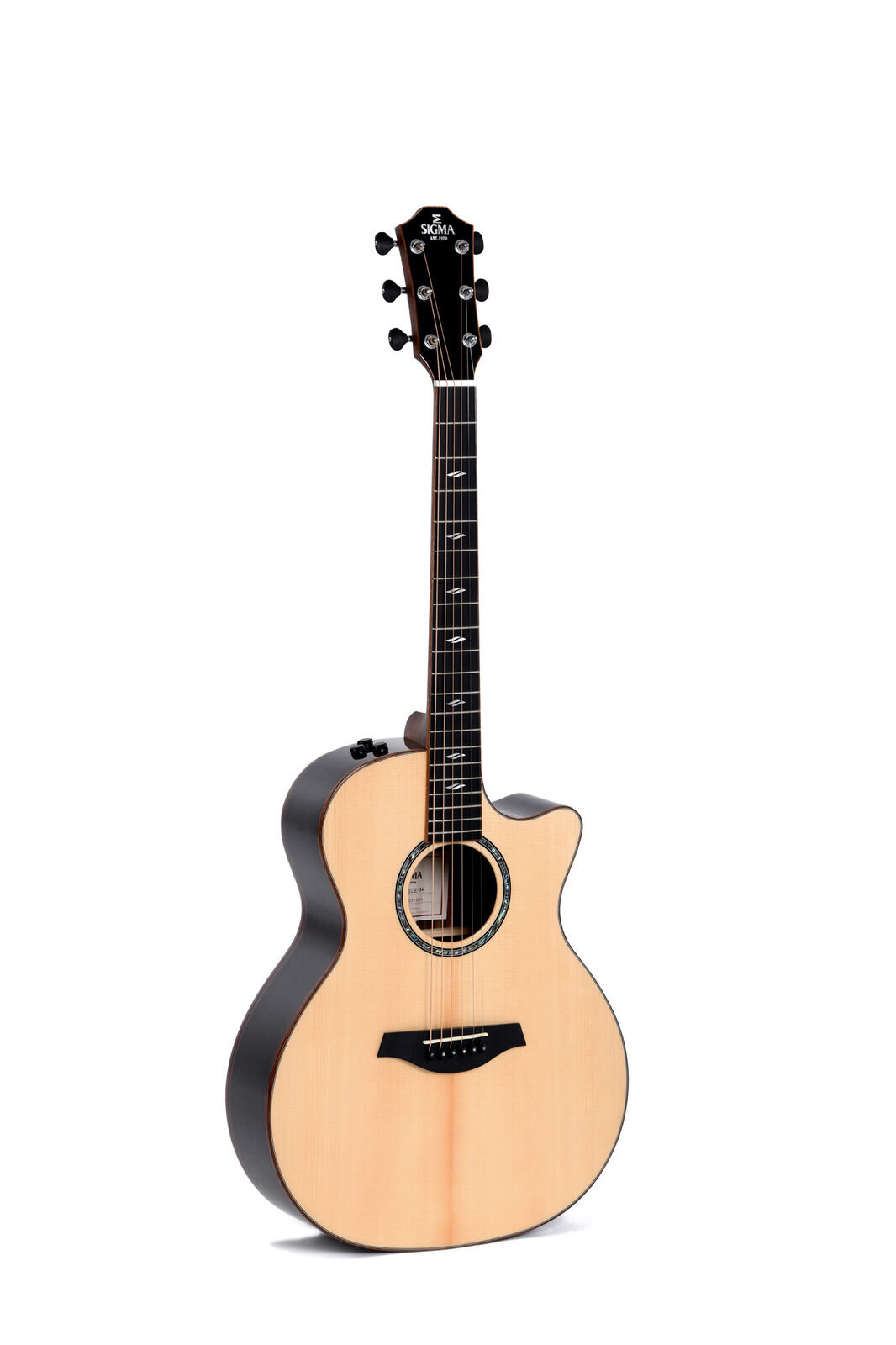 Sigma Guitars GECE-3+ - Modern Series