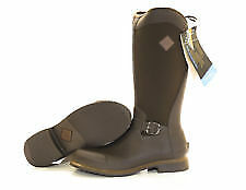 Muck Boot Womens Reign Tall Equestrian Boot Chocolate/Bison Size 10
