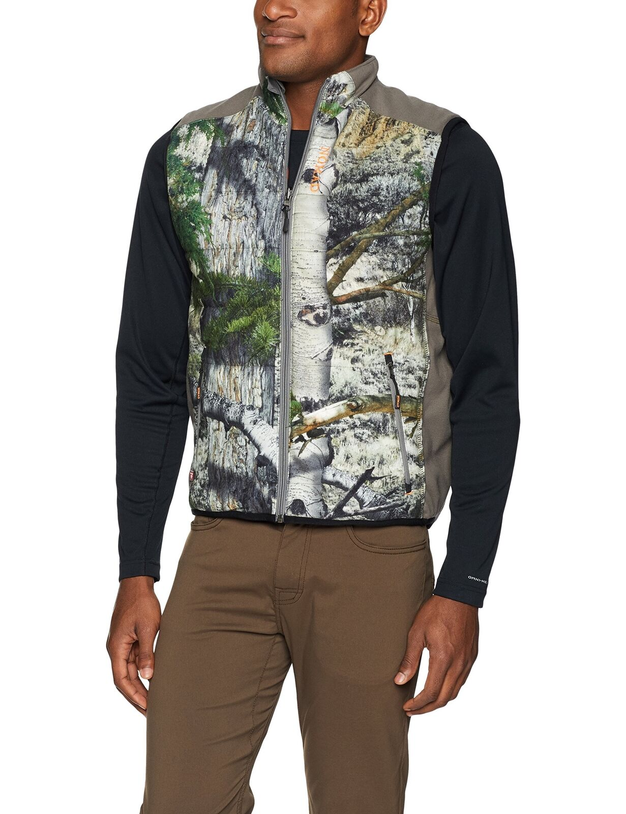 Nomad Outdoor Men's Dunn Primaloft Vest, Mossy Oak Mountain Country, Large