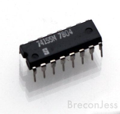 Signetics 74155N IC Dual 2-To-4 Decoder De multiplexer Integrated Circuit OM0055