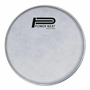 New-Model-9-039-039-Power-Beat-Darbuka-Drum-Head-Imitation-Lamb-Suede-White-Fabric