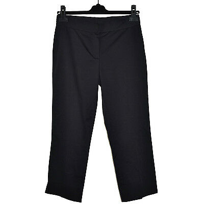 Gentile Iceberg Pantacourt Pantalon Stretch 36 Gilmar 40it Made In Italy 26 Black Pants