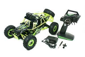Dune-Buggy-WL-Across-50km-h-2-4-GHz-4WD-LED-Scheinwerfer-Akku-und-Ladegeraet-NEU