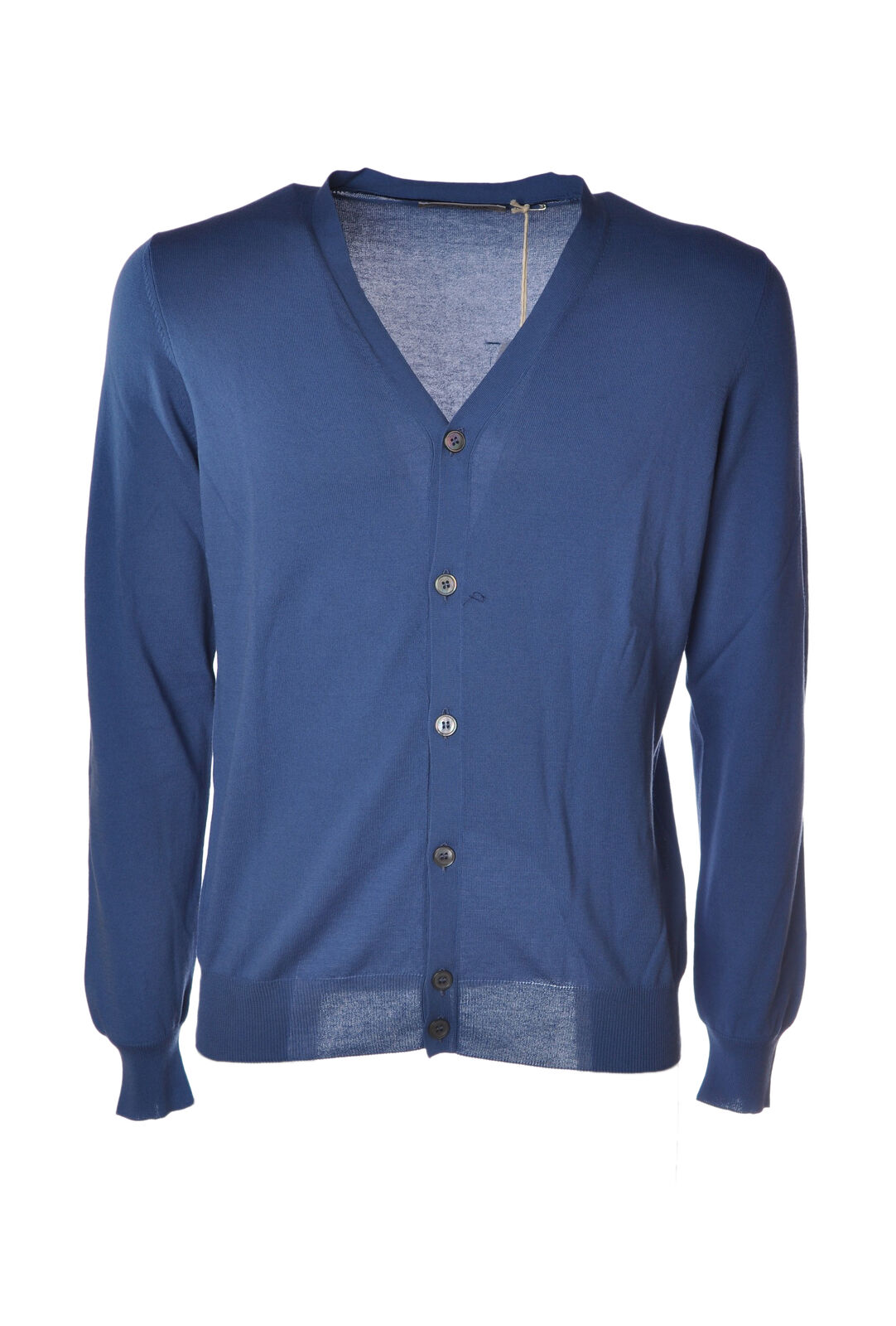 LA FILERIA - Knitwear-Cardigan - Man - Blau - 5008020F184714