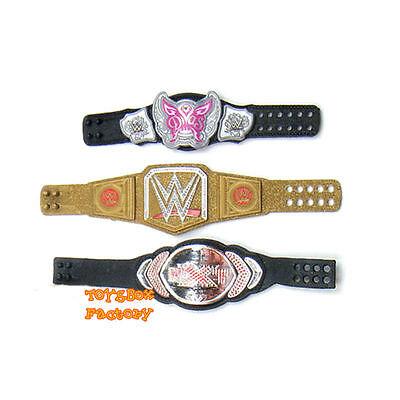 WWE Mattel Action Figure Accessory Divas Women/'s Title Belt Elite loose