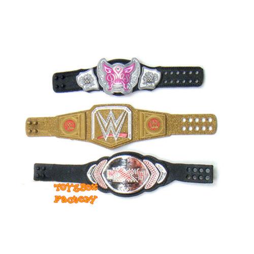 NXT WWE World Heavyweight Championship Divas Women Wrestling Belt Toy Figure