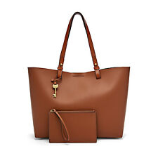 Fossil Authentic ZB6817200 Brown Rachel Tote Leather Women's Bag