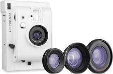 Lomography Lomo'Instant White : 3 lenses + 1 Fujifilm cartridge