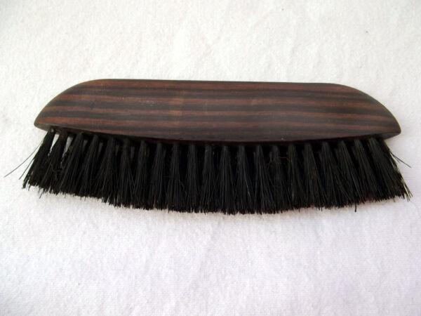 2x Vecchio Legno Duro A Pennello Da Barba Toelettatura Spazzole: Spazzola Per Cappelli + Pennello Ebony Vestiti Elegante Nell'Odore