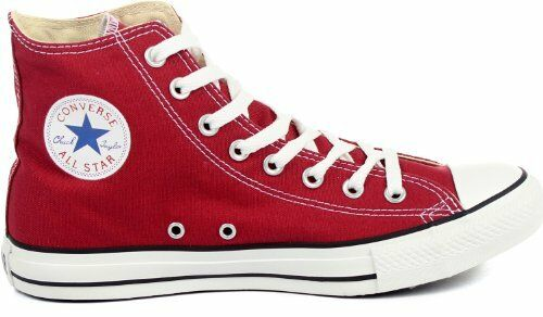 Converse Chuck Taylor Hi Jester Red 136503F Uomo Size 10 Donna 12 Shoes