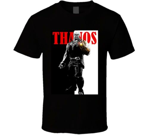 Thanos Infinity War Avengers Scarface Parody Funny Fan T Shirt