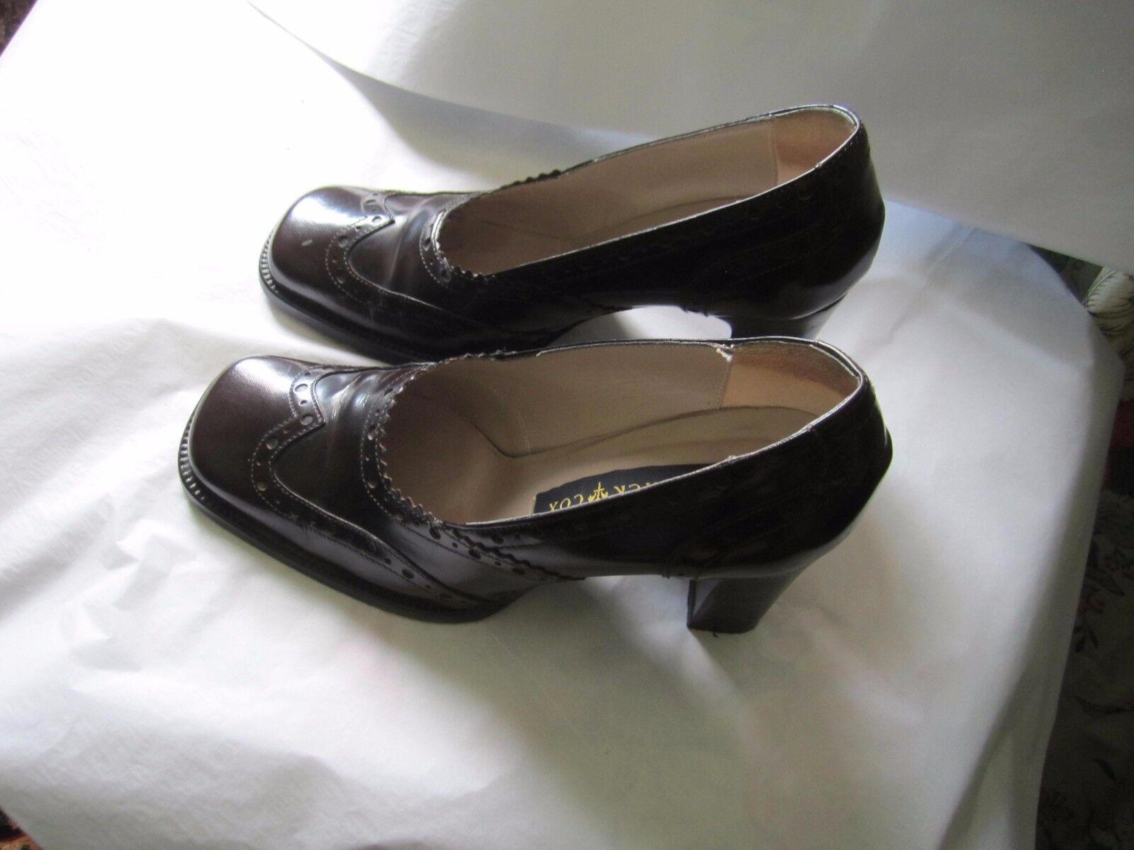 Patrick Cox chaussures taille 36.5 (porté une fois) Semelle en cuir. - dessus en cuir