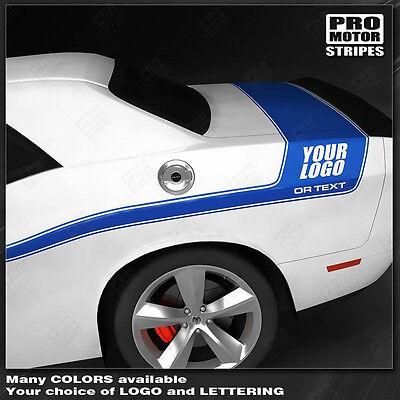 Dodge Challenger Mid Body Mopar Style Side Stripes 2011 2012 2013 2014 Pro Motor