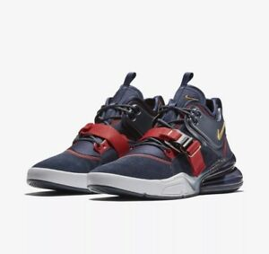 Details about Nike Air Force 270 Olympic Dream Team USA Obsidian Gold Max AH6772 400 SZ 8