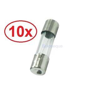 10x-FUSIBLE-RAPIDO-5-x-20mm-CRISTAL-250v-05A-2A-3A-8A-10A-Fuse-Fast-Break