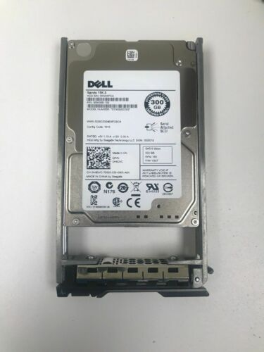 DELL ST9300653SS H8DVC 0H8DVC 300GB 15K 6G 2.5in SAS Hard Drive With Tray