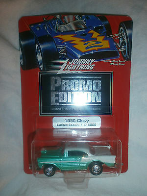 Johnny Lightning Promo Edition 1956 Chevy Green And White 1/64  1 Of 5000 T6 T10