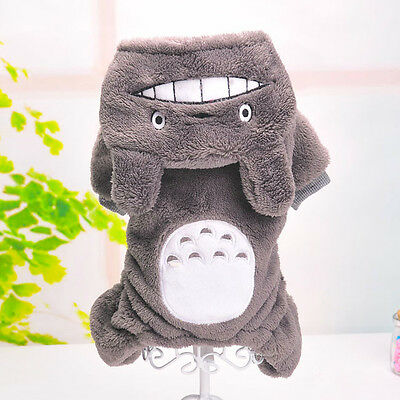 Halloween Costumes Totoro Pet Clothes Dog Clothing Hoodie Sweater Coat Puppy Cat