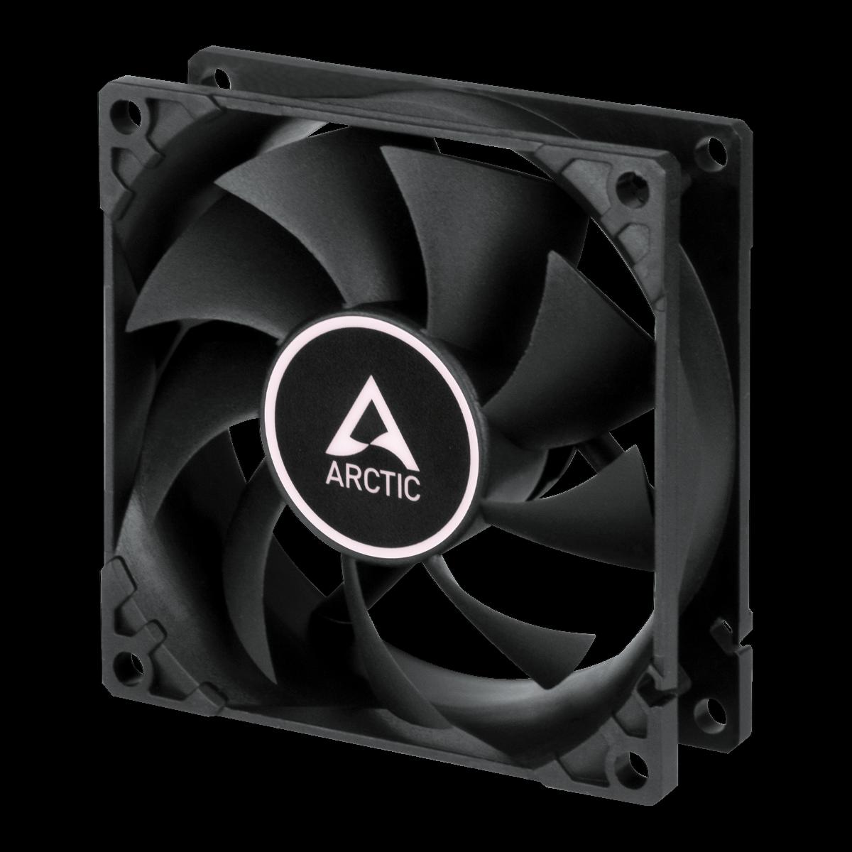 Arctic Cooling F9 PWM PST 92mm Black Case PC Fan 1800 RPM, 43 CFM