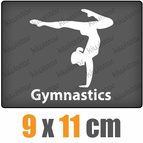 Gymnastics csf0484 9 x 11 cm Jdm Sticker Decal