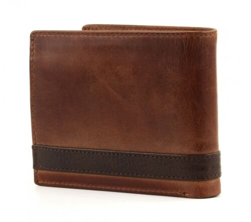 FOSSIL Bourse Quinn Large Coin Pocket Bifold Brown