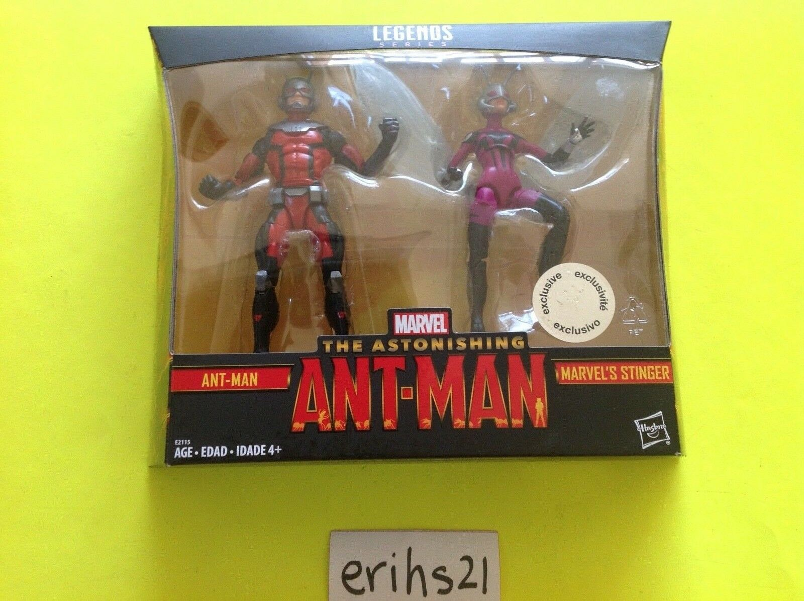 Marvel Legends The Astonishing Ant-Man & Marvel's Stinger TRU Exclusive ANTMAN