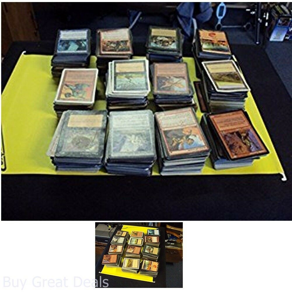 Magic Card Collection 2000 Plus Cards Includes Foils, Rares, Uncommons Possible