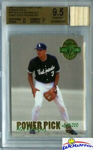 1993 Classic #PP15 Alex Rodriguez RC w/Game Used BAT BGS 9.5 GEM MINT GGUM