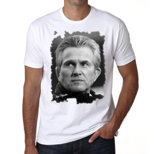 Coton blanc cadeau Jupp Heynckes t shirt homme Manches Courtes
