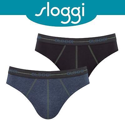 *6 Pack* SMALL Sloggi Grey Midi Basic Brief Giftbox Special Edition