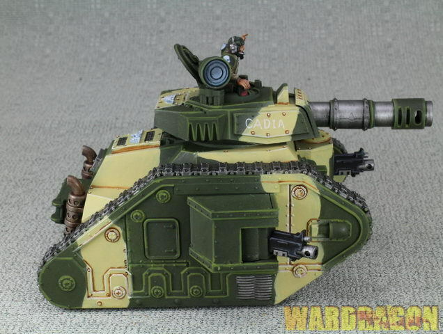 25mm Warhammer 40K WDS painted Imperial Guard Leuomo  Russ Battle Tank d82  saldi