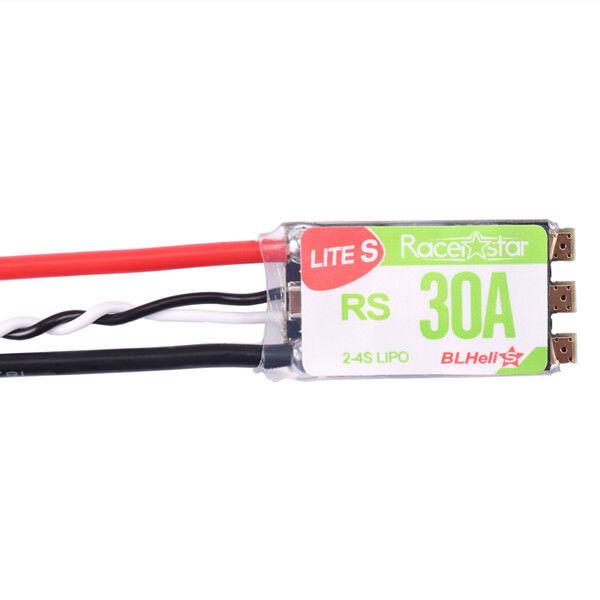 RACERSTAR MINI 6A 1S 2S BLHELI 4 IN 1 BRUSHLESS ESC 5V BEC SUPPORT 16.5 DSHOT600