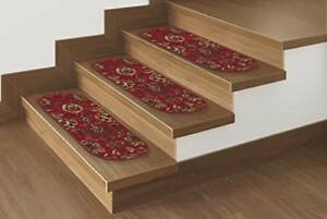 New Ottomanson Ottohome Collection 7 Leaf Stair Tread 9