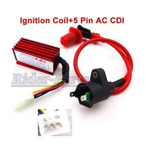 Racing Ignition Coil AC CDI Fit Honda XR CRF 50 110cc 125cc Engine Dirt Pit Bike