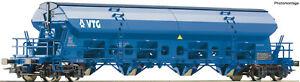Roco-H0-76401-Schwenkdachwagen-Bauart-Tads-der-VTG-NEU-OVP