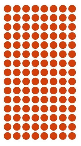"""1//4/"""" RED Round Color Coding Inventory Label Dots Stickers MADE IN USA"""