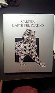 Cologni-Nussbaum-Cartier-L-039-arte-del-platino-Mondadori-1995-GIOIELLI-ARTE