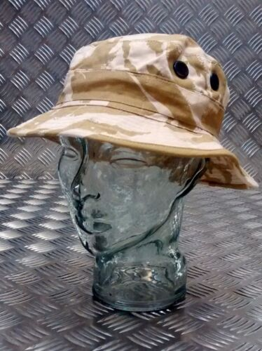 Military Style Special Forces Boonie Hat Bush hat Short Brim Desert Camo NEW