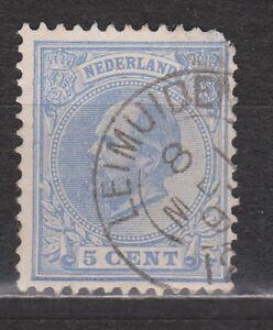 NVPH-Netherlands-Nederland-19-TOP-CANCEL-LEIMUIDEN-Willem-III-1872