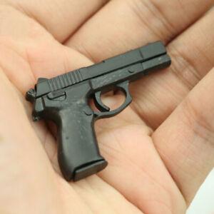 "1 6 Scale Gun Weapon Model 4d Assembling Pistol for 12"" Action Figure Body Toy"