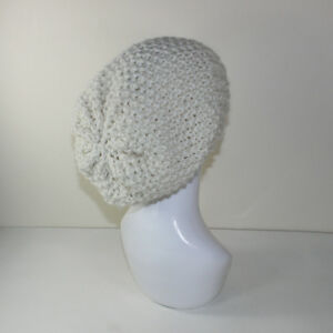 Details about PRINTED INSTRUCTIONS -SUPER CHUNKY MOSS STITCH SLOUCH HAT  KNITTING PATTERN