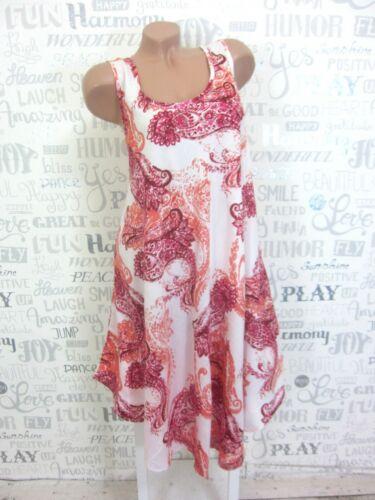 NEU Sommerkleid Hängerchen Strand Kleid Tunika IBIZA BOHO 42 44 46 Weiß O 1653