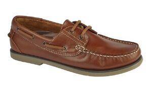Elegante Mocasin Dek M551 Piel De Claro Canela Hombre Náuticos Detalles Zapatos I7yYvfgb6m