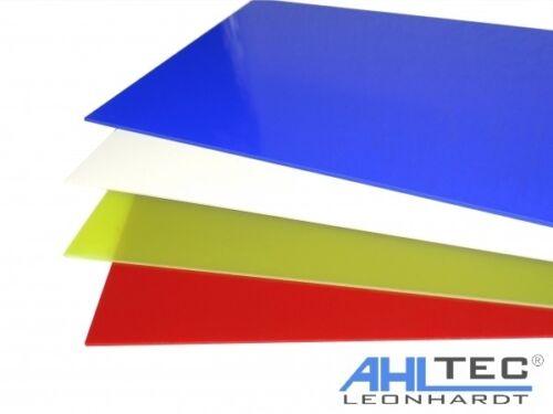 GFK Platte G10 FR4 grün Glasfaser Dicke 0,5 mm Größe wählbar