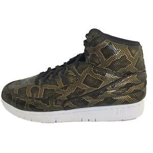 Details about Nike Air Python PRM Mens Basketball Shoes 11.5 Black White Copper 705066 002