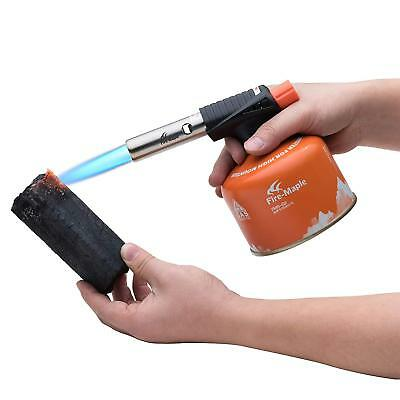 Outdoor Cooking & Eating Bbq Tools & Accessories Fine Fire-maple Fms-360 Butane Gas Torch Blowtorch Flame Gun /w Ignitor